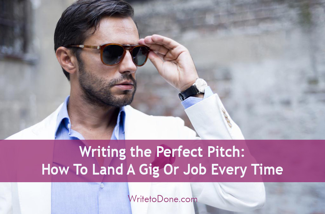 writing the perfect pitch