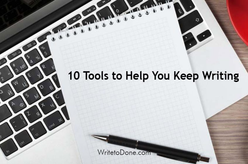 tips to help you keep writing