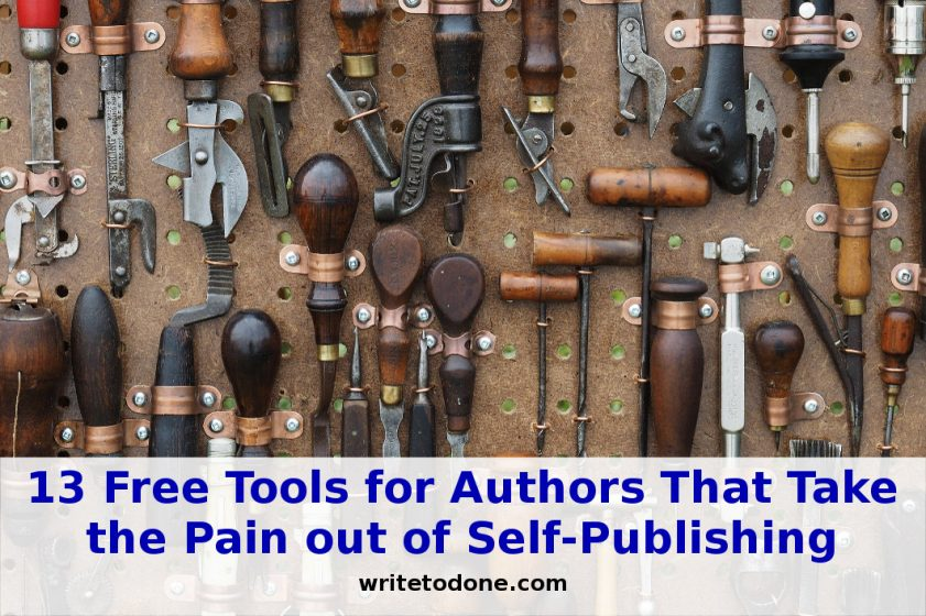 free tools for authors - tools
