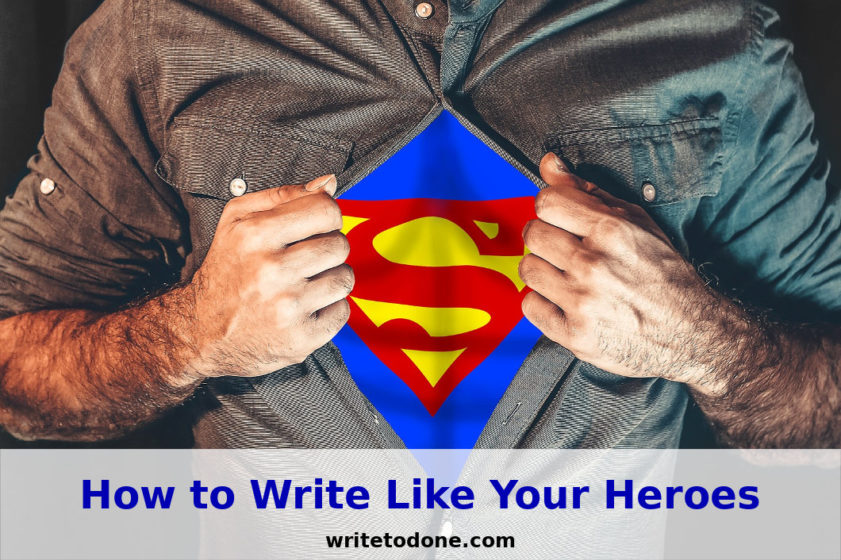 write like your heroes