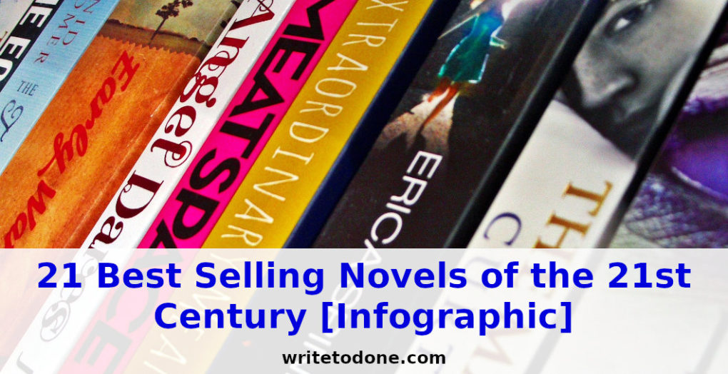21 Best Selling Novels of the 21st Century [Infographic]